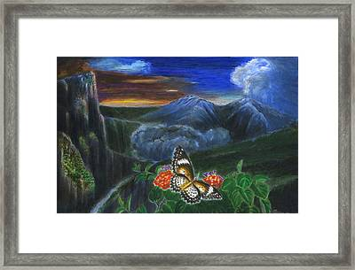 Light And Life 8 Framed Print by Zong Yi
