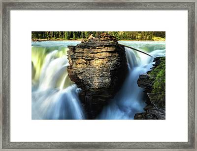 Light And Movement Framed Print