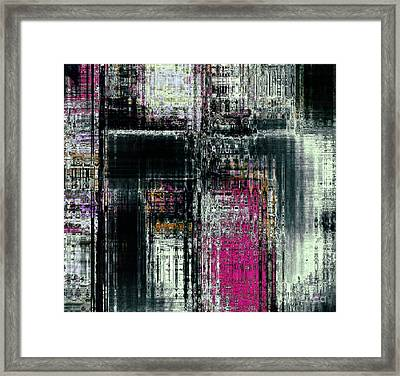 Light And Ref'lection Framed Print by Fania Simon