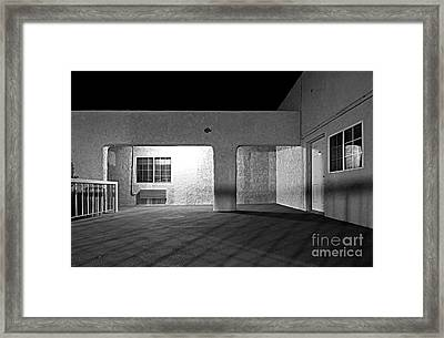 Light And Shadow Framed Print by Christian Hallweger