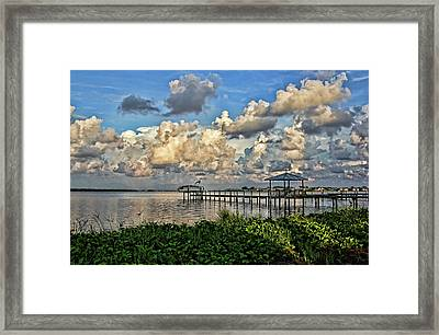 Light And Shadows Framed Print by HH Photography of Florida