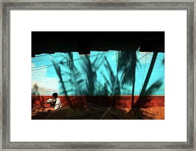 Light And Shadows Framed Print by Marji Lang