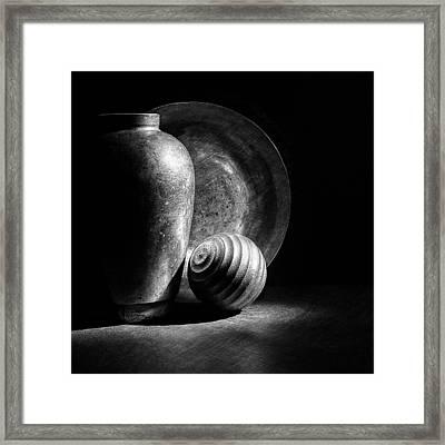Light And Shadows Framed Print