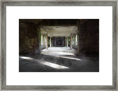 Light And Shadows Of The Past Framed Print by Svetlana Sewell