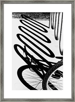 Framed Print featuring the photograph Light And Shadows by Wanda Brandon
