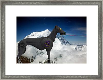 Light Armored Recon Hound Framed Print by Kevin  Sherf