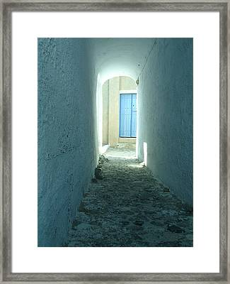 Light At The End Of The Tunnel Framed Print by Jennifer Kelly