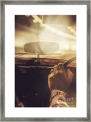 Light At The End Of The Tunnel  Framed Print by Jorgo Photography - Wall Art Gallery