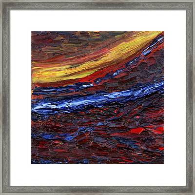Light At The End Of The Tunnel Framed Print by Vadim Levin