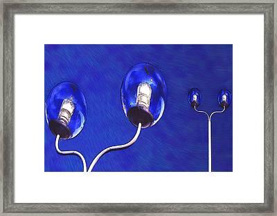 Light Balls Framed Print by Paul Wear