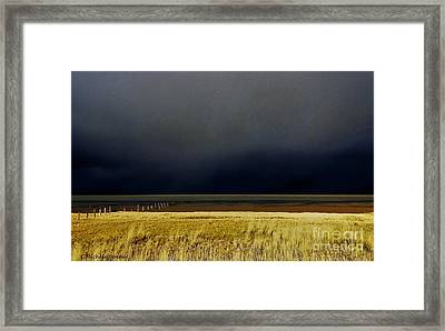 Light Before The Storm Framed Print by Michele Penner