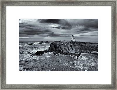 Light Before The Storm Framed Print by Mike Dawson