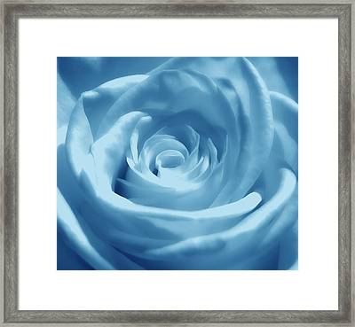 Light Blue Dream Framed Print