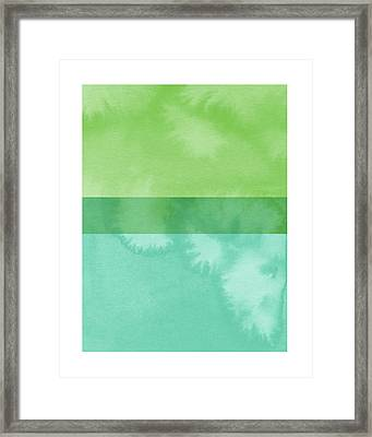 Light Breeze 2- Art By Linda Woods Framed Print