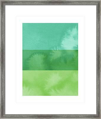 Light Breeze- Art By Linda Woods Framed Print by Linda Woods