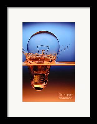 Electric Light Framed Prints
