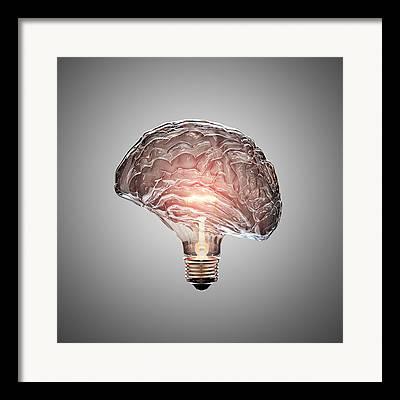 Energize Framed Prints