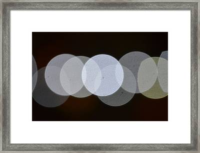 Light Cells Framed Print by Riad Belhimer