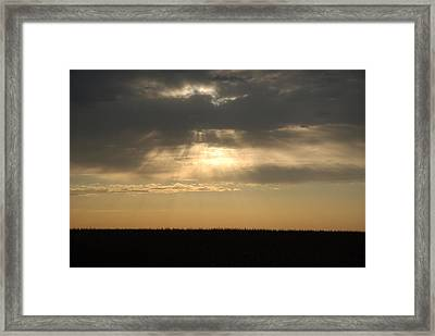 Light Framed Print by Cheryl Helms