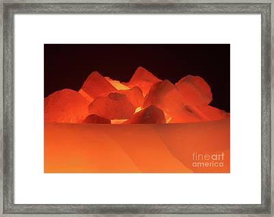 Light Framed Print by Christine Amstutz