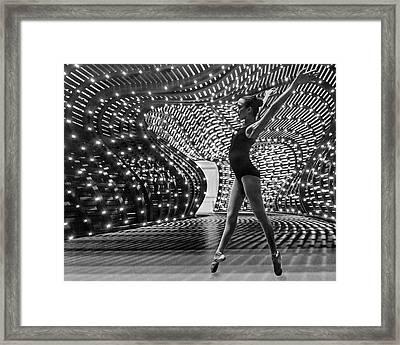 Framed Print featuring the photograph Light Dance by Alan Raasch
