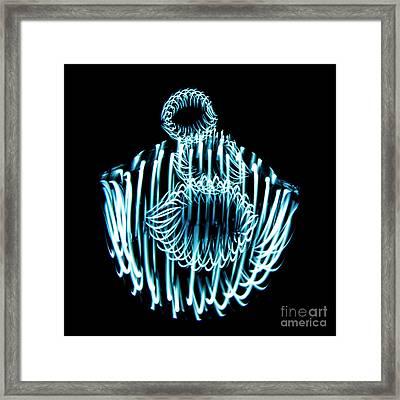 Light Dancer Framed Print
