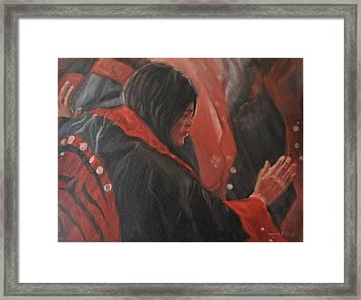 Light Dancer Framed Print by Tahirih Goffic