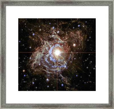Light Echoes Framed Print by Marco Oliveira