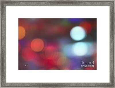Light Effects Framed Print