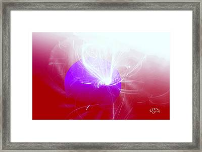 Light Emerging Framed Print
