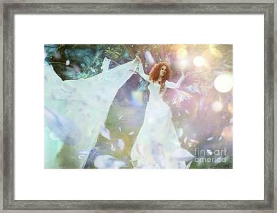 Light Fairy Framed Print