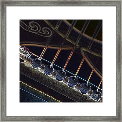 Light Fantastic 5 Framed Print by Wendy Wilton