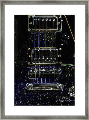 Light Fantastic 6 Framed Print by Wendy Wilton