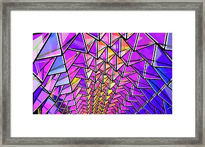 Light Fantasy Framed Print by Elvira Butler