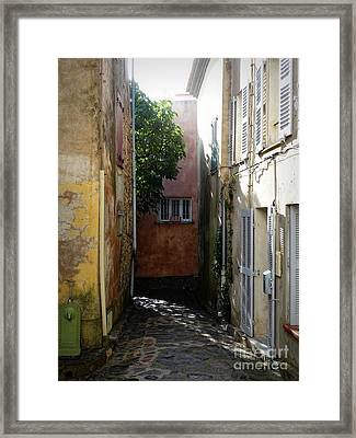 Light Finds It's Way Framed Print by Lainie Wrightson