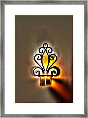 Light For New Beginning Framed Print by Sonali Gangane