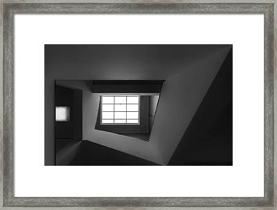 Light From Above Framed Print by Gerard Jonkman