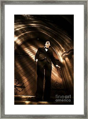 Light From Heaven Framed Print by Jorgo Photography - Wall Art Gallery