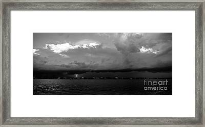 Light From The Darkness Framed Print by David Lee Thompson