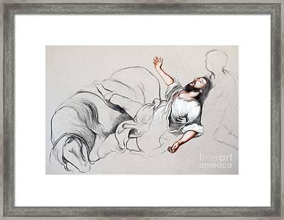 Light Framed Print by Gabriela Junosova