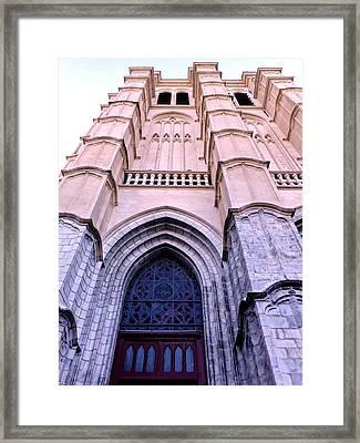 Light Gothic Framed Print by Charlotte Jensen