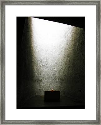 Light Gradient - 1 Of 3 Framed Print by Alan Todd