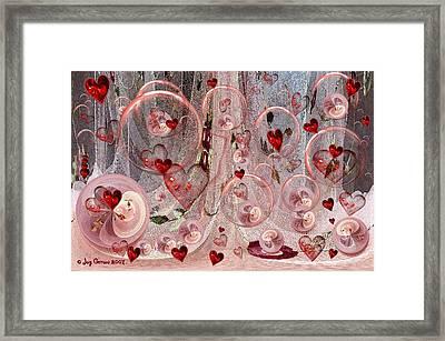 Light Hearted Framed Print by Joy Gerow