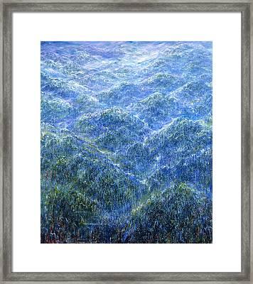 Light Heights Framed Print