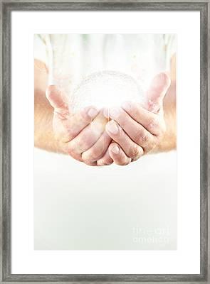 Light Holder Framed Print