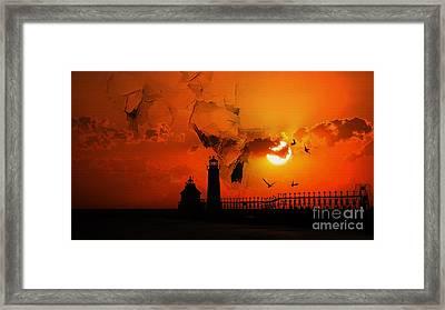 Light House 02 Framed Print by Gull G
