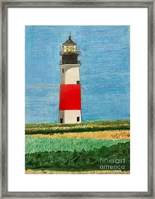 Light House Framed Print by Dale Ballenger