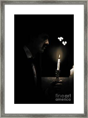 Light In Darkness Framed Print by Jorgo Photography - Wall Art Gallery