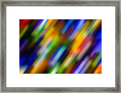 Light In Motion Framed Print