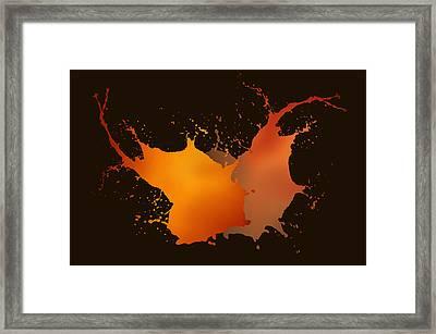 Light In Movement Framed Print